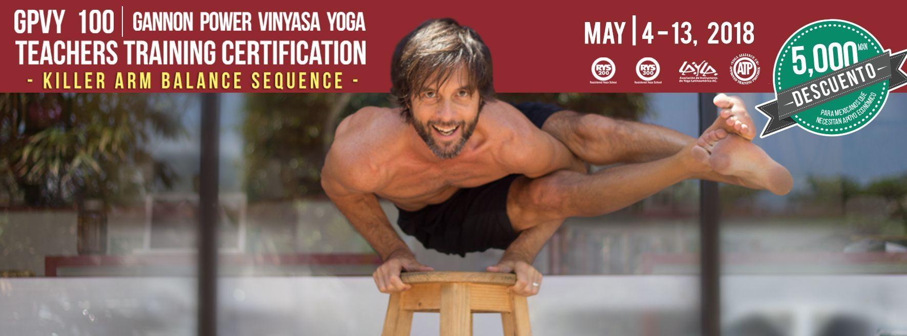 Gannon Power Vinyasa Yoga Teacher Training GPVY 100